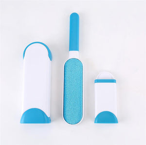 Pet Hair Remover with Self-Cleaning Base
