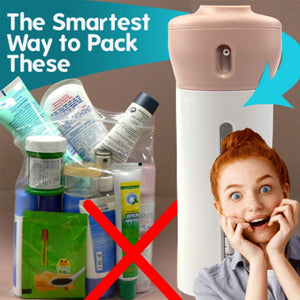 4-in-1 Smart Travel Bottles Set