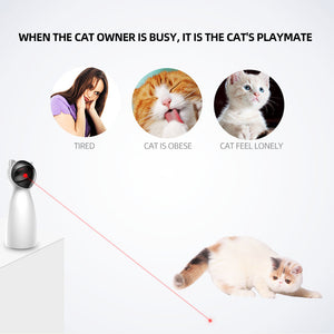 Automatic Laser Toy for Cats