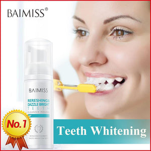 BAIMISS Fresh and shining teeth-cleaning mousse