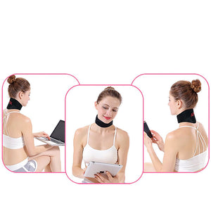 Piece Self-heating Tourmaline Neck Magnetic