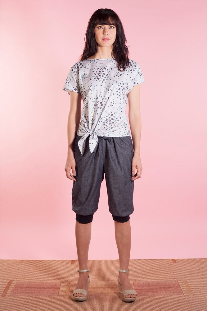 Tyler top impala/Greta pants chambray