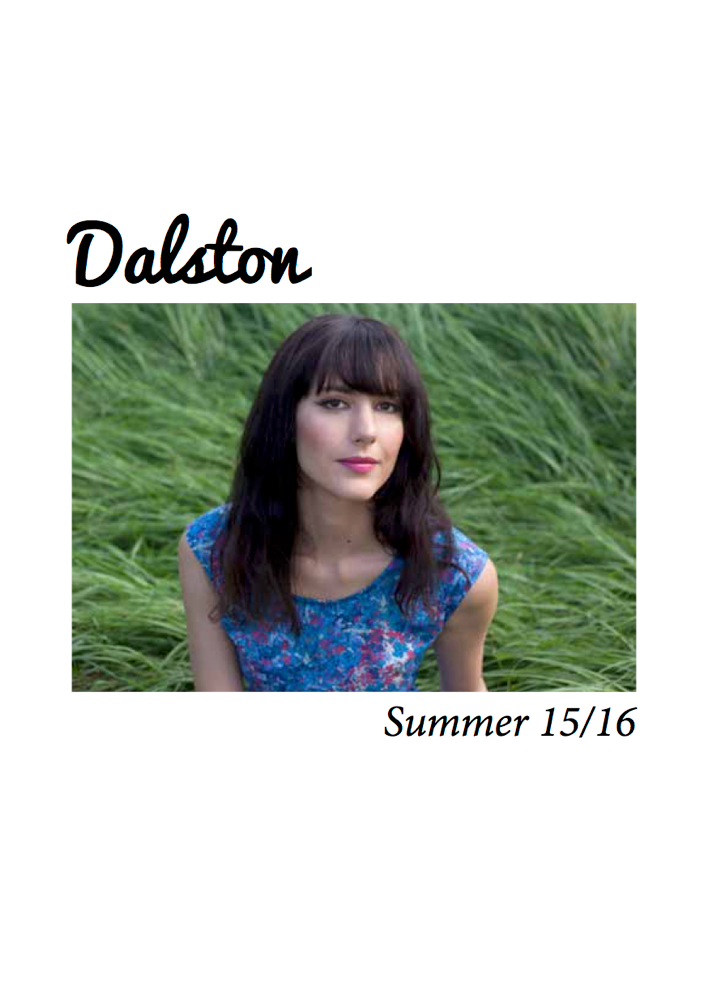 New from Dalston for Summer 2015/16