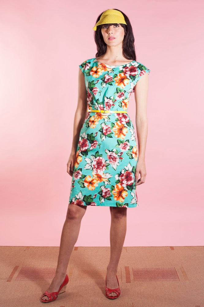 Judy dress tropical