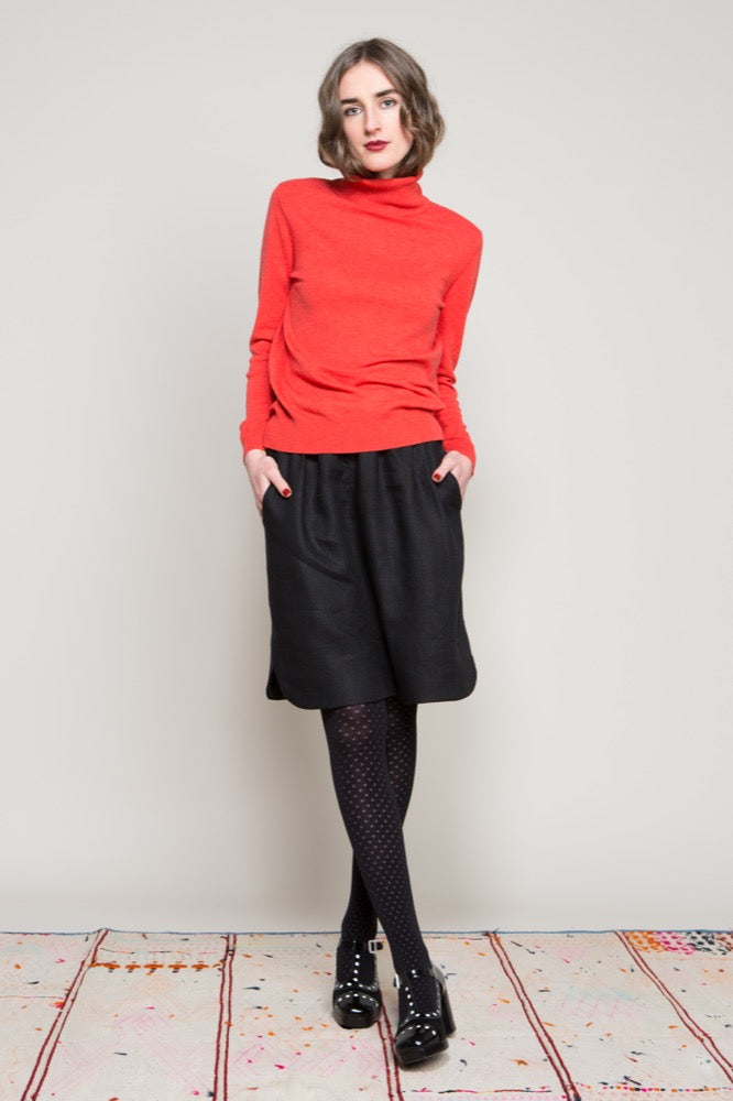 Roll neck sweater / Gemma skirt