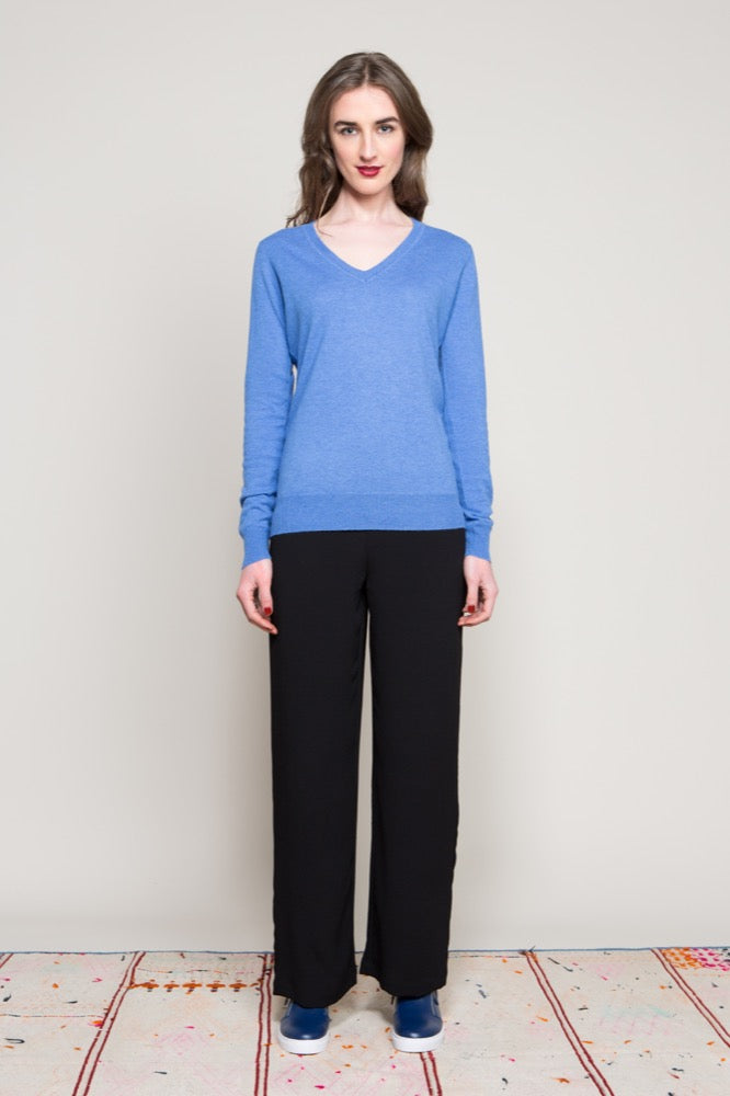 Vee neck sweater / Tracy pant