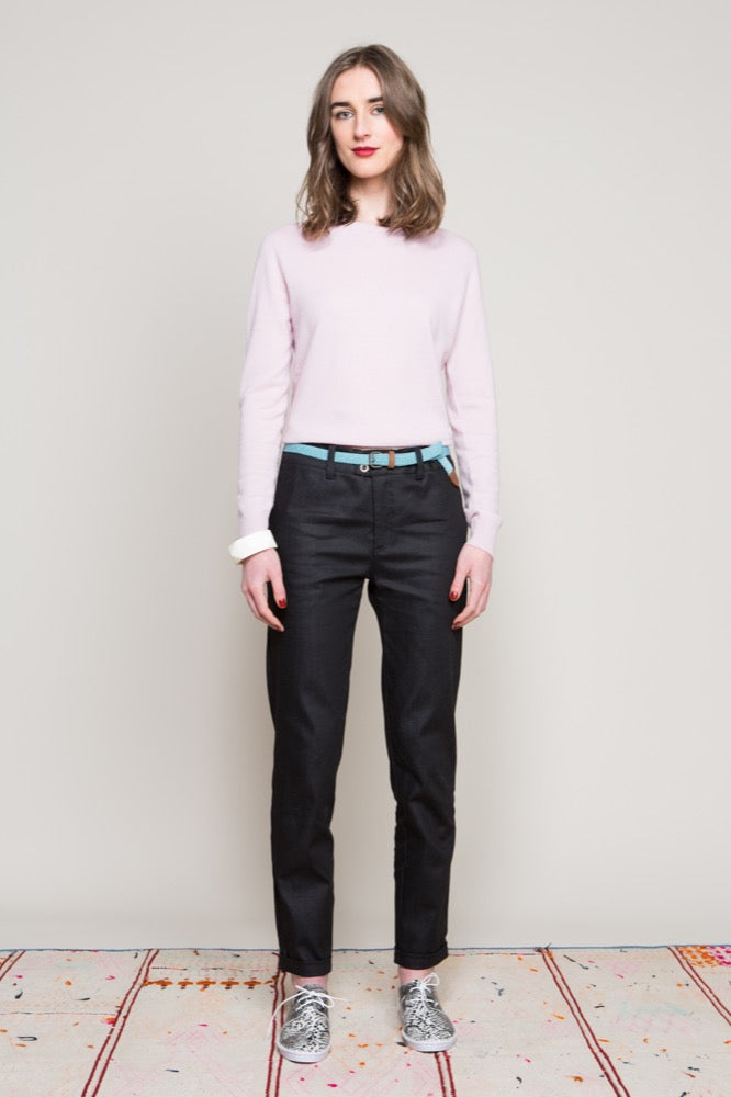 Crew neck sweater / Naomi pant
