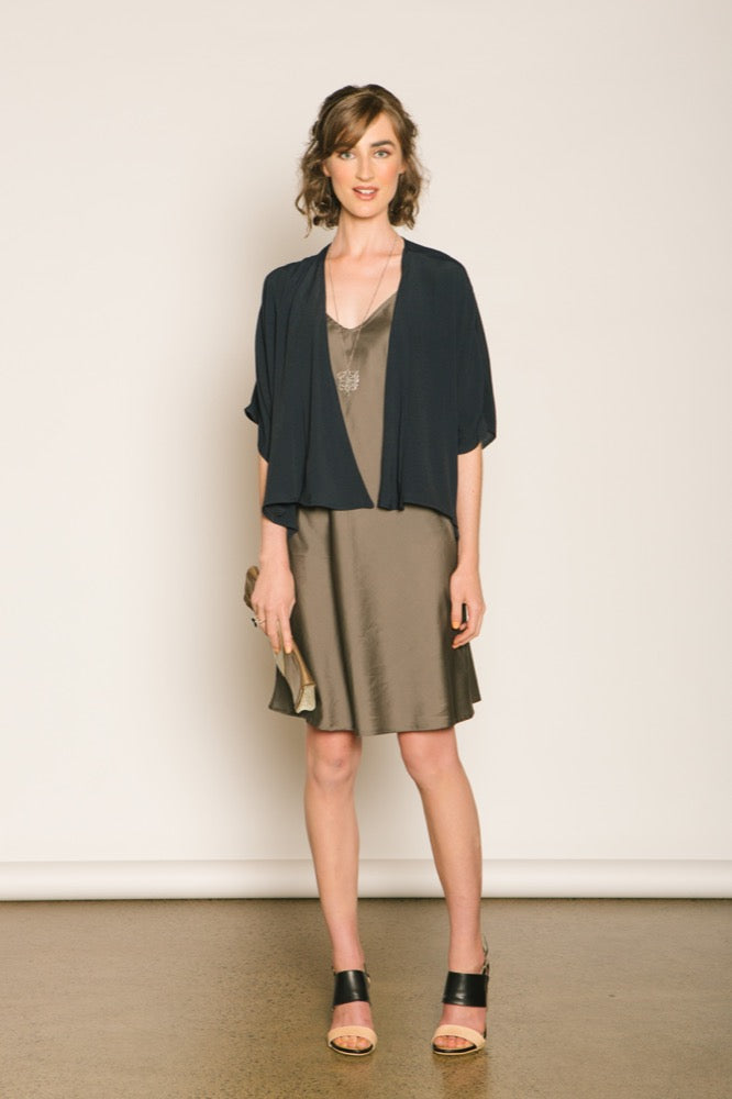 Melissa jacket / Slip dress