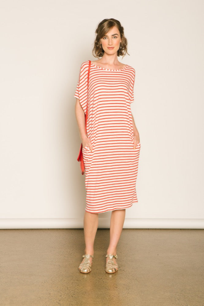 Slouch tee dress