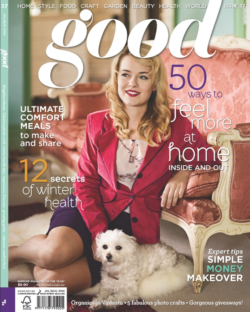 Angeline Jacket // <b>Good Magazine Cover</b>