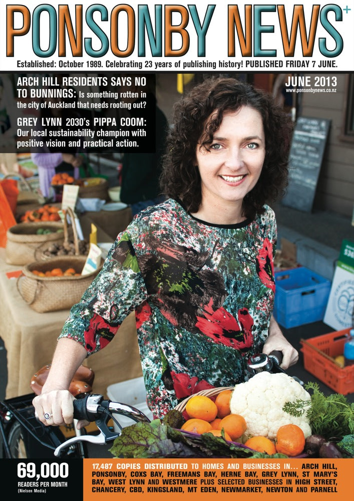 Pippa Coom in Lauren top // <b>Ponsonby News</b>