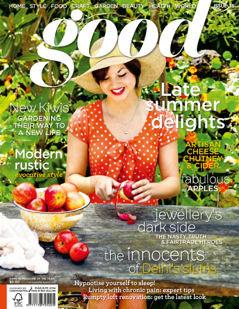 Tilly dress // <b>Good magazine cover</b>