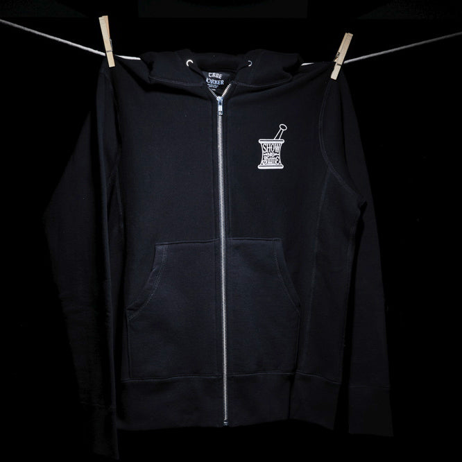 SHOW NO SHAME - ZIP HOODED SWEATSHIRT