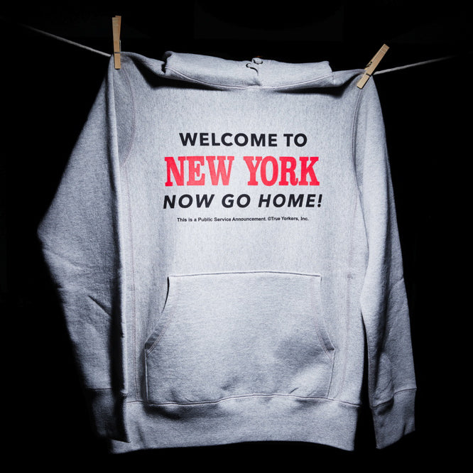 WELCOME - HOODED SWEATSHIRT