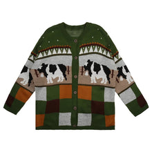 Load image into Gallery viewer, Cattle Knit Cardigan