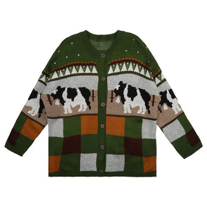 Cattle Knit Cardigan