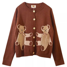 Load image into Gallery viewer, Teddy Doll Cardigan