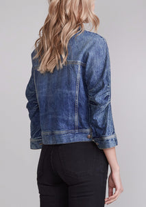 Tanner Shrunken Trucker Jacket, Kelly