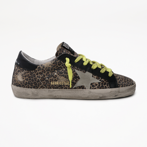 Super-Star Sneakers, Leopard Suede