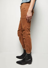 Load image into Gallery viewer, Cropped French Military Pants, Whiskey
