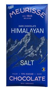Meurisse - Dark Chocolate with Himalayan Salt 100g