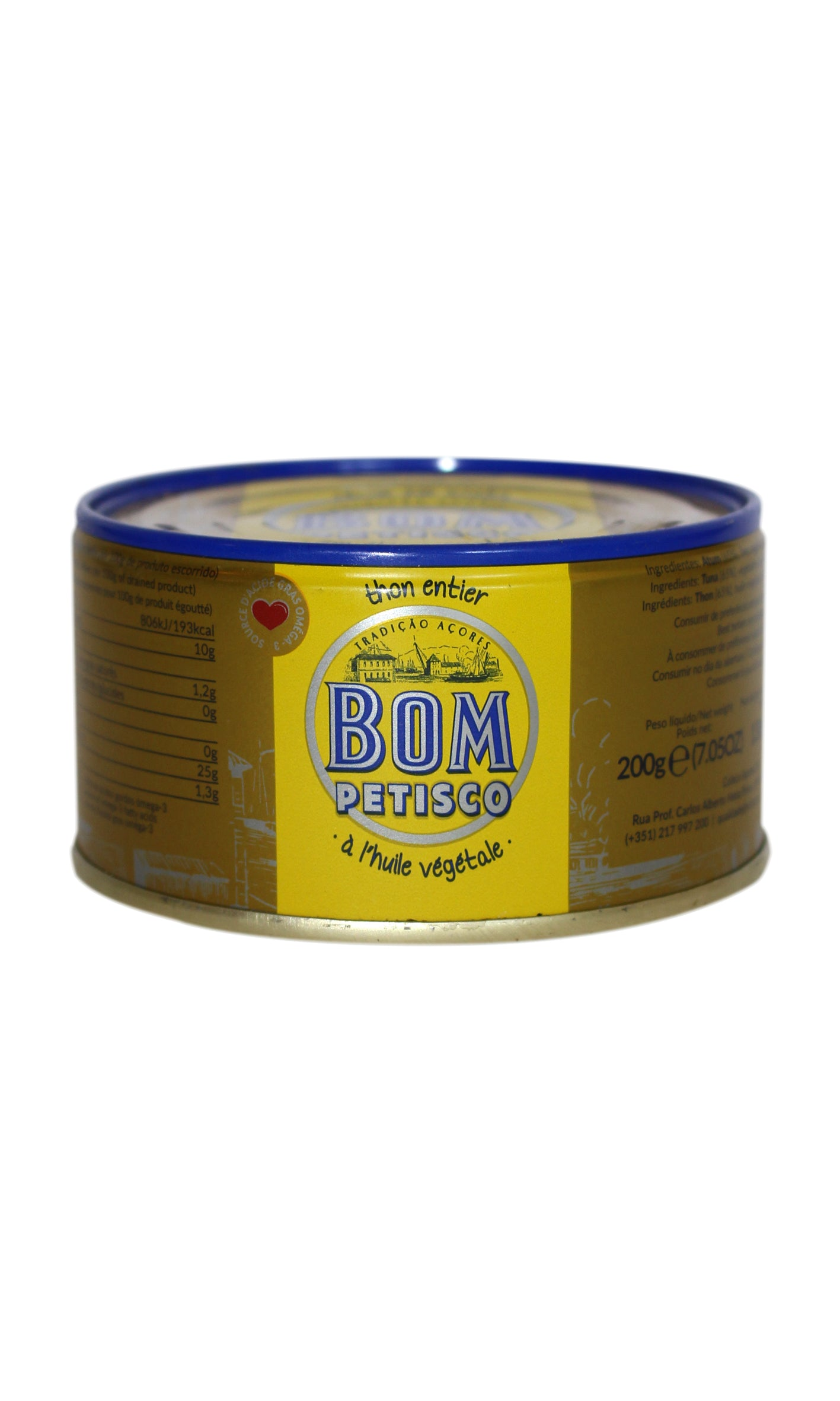 Bom Petisco: Tuna in Vegetable Oil - 200g
