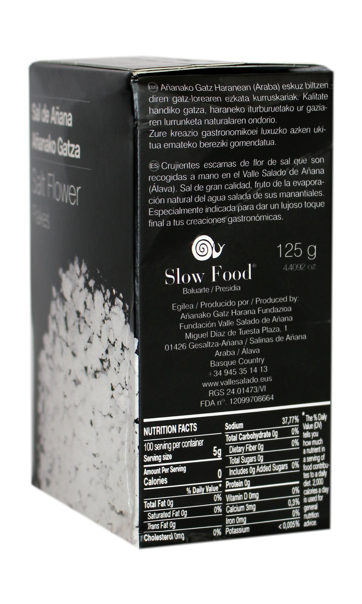 Basque Añana: Salt Flakes - 125g
