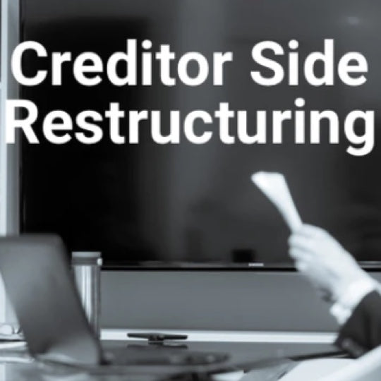 Creditor Side Restructuring Investment Banking