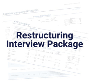 Restructuring Interview Package / Course