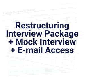 Restructuring Interview Package and Course with Mock Interview