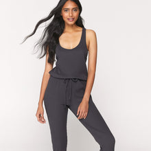 Load image into Gallery viewer, Spiritual Gangster Giselle Rib Jumpsuit - Black