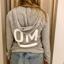 Load image into Gallery viewer, OM Lightweight Hoodie - Unisex - Grey