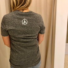Load image into Gallery viewer, Pure Yoga Large Logo Tee - Women's - Grey