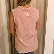 Load image into Gallery viewer, Pure Yoga Block Print Front Muscle Tank - Women's - Pink