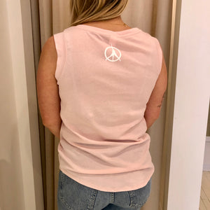 Pure Yoga Pink Muscle Tank - Women's - Pink