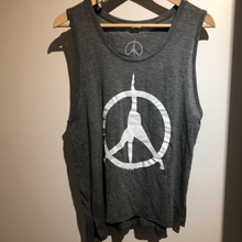 Load image into Gallery viewer, Pure Yoga Tank - Women (Large Logo) - Grey
