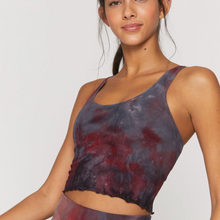 Load image into Gallery viewer, Spiritual Gangster - Amor Crop Tank - Galaxy