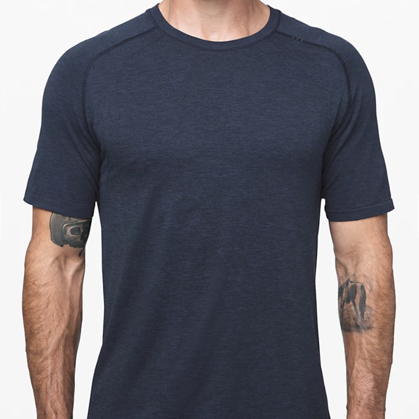 Lululemon - Men's Metal Vent Tech Short Sleeve 2.0 - Navy