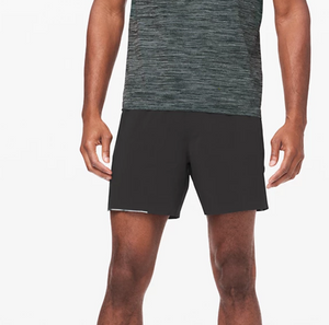 "Lululemon - Men's Surge Shorts Lined 6"" - Black"