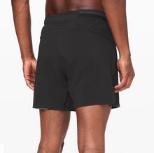 "Load image into Gallery viewer, Lululemon - Men's Surge Shorts Lined 6"" - Black"