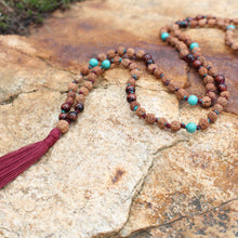 Load image into Gallery viewer, Mala Rae - Seeds of Adventure Mala Necklace