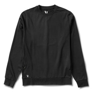 Vuori Mens Ponto Performance Pullover - Black