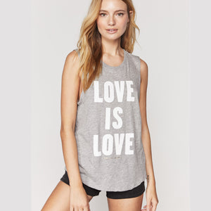 Spiritual Gangster - Love Is Love Muscle Tank