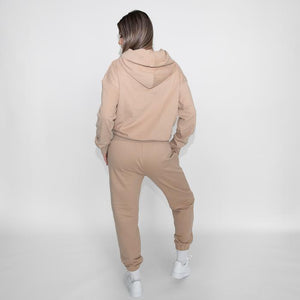 Shady Lady Butter Fleece Hoodie SAND