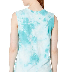 Alternative Apparel - Womens Tie Dye Loose Tank - Blue Lagoon