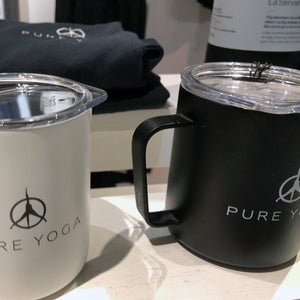 "Pure Yoga ""Camp Cup"" Travel Mug"