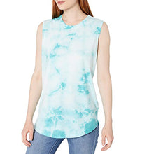 Load image into Gallery viewer, Alternative Apparel - Womens Tie Dye Loose Tank - Blue Lagoon