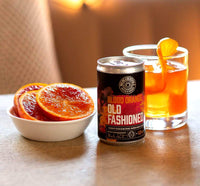 Canned Blood Orange Old Fashioned