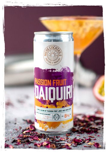 Niche Cocktails Passion Fruit Daiquiri Canned Cocktail