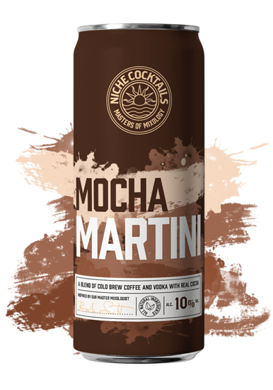 Niche Cocktails Mocha Martini Canned Cocktail